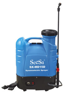 18L CE Approved Knapsack Backpack Electric Bttery Sprayer (SX-MD18D) pictures & photos