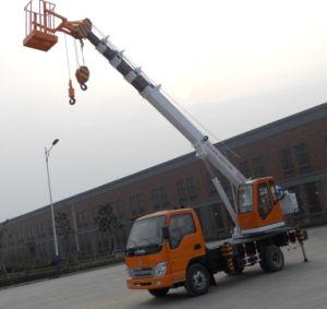 24m 7 Ton Mini Hydraulic Truck Crane