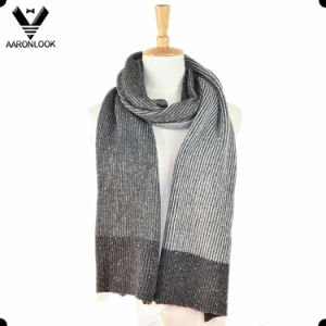 Winter Fashion Knitted Nep Yarn Scarf pictures & photos
