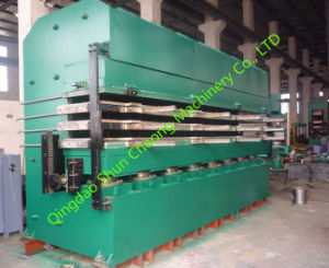 Tyre Tread Vulcanizing Press, Tire Retread Vulcanizer Xlb-Dq400X3600X3/600tons pictures & photos