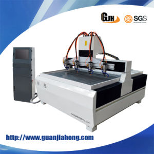 Multi-Head Stone/ Woodworking CNC Router Machine pictures & photos