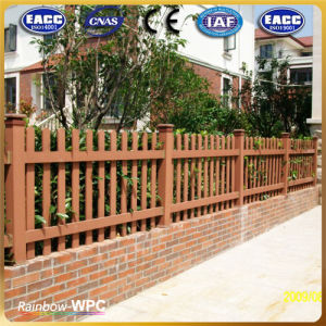 Cheap Portable Garden WPC Fence with Fsc, CE, SGS Certifications