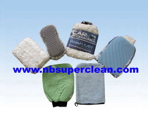 Supply All Kinds of Microfiber Car Wash Mitt and Glove pictures & photos