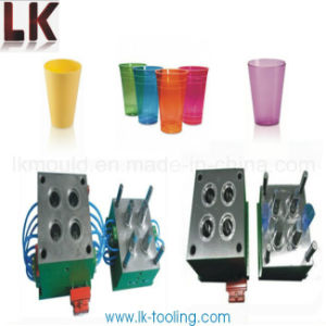 High Quality PC Engineering Plastics Material Injection Molded Cups pictures & photos