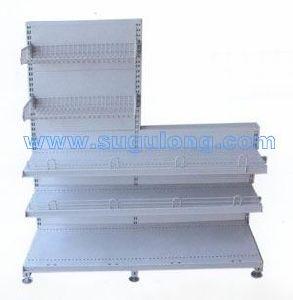 Small-Size Supermarket Metal Gondola Shelf&Rack/Front Cash-Table Shelf