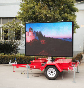 Vms Trailer Mouting LED Screen Full Color pictures & photos