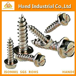 Stainless Steel Hex Wafer Head Fasteners Tapping Screw pictures & photos