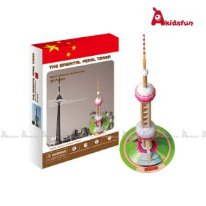 3D Architecture Puzzle -The Oriental Tower Shaihai China (LPT-13)