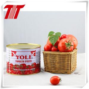 Halal Tin Tomato Paste-2200g Yoli Brand pictures & photos