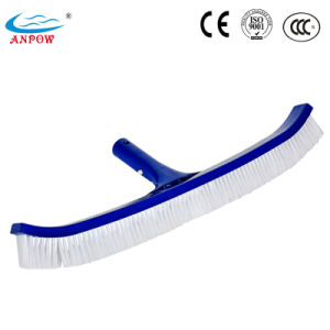 Stand Curved Poly Wall Swimming Pool Cleaning Brush pictures & photos