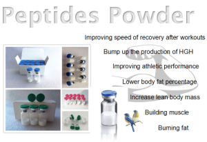 Injectable Somatropin Lyophilized Peptides Peg-Mgf for Building Muscle pictures & photos