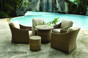 Garden Table Chair  /Rattan Table Chair Set / Outdoor Table Chair (7119)