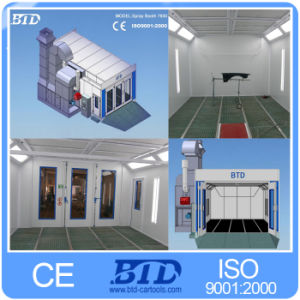 CE Approved Btd Spray Paint Booth for Cars pictures & photos