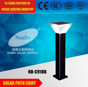 Super Bright LED Solar Path Light with Blue Light Strip pictures & photos