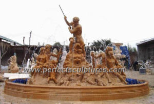 Stone Water Fountain with Garden Marble Statue (SY-F295) pictures & photos