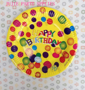 7inch 9inch Birthday Party Paper Plate