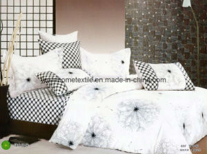 Cotton Sheet Sets, Bed Sheet, Pillowcase, Hometextile (YX-C606)