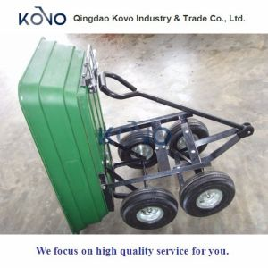125L Garden Dump Wagon with Plastic Pan pictures & photos