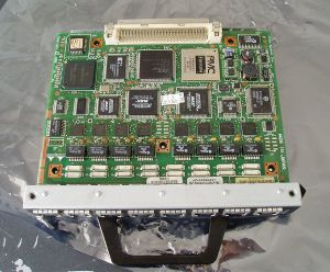 Used Cisco PA-MC-8TE1 + Module