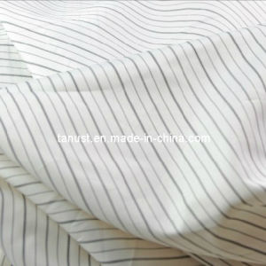 Polyester Sleeve Stripe Yarn-Dyed Taffeta Fabric (FT19)