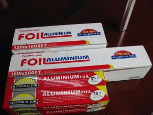 8011 High Quality Household Aluminium Foil pictures & photos