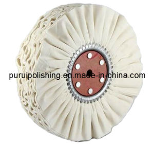 Airway Cotton Buffing Polishing Wheel (Bias) for Metal pictures & photos