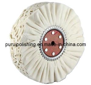 Airway Cotton Buffs, Bias Type Cotton Buffs, Ventilated Cotton Buffs pictures & photos