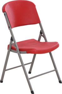 Blow Molding Plastic Folding Chair pictures & photos