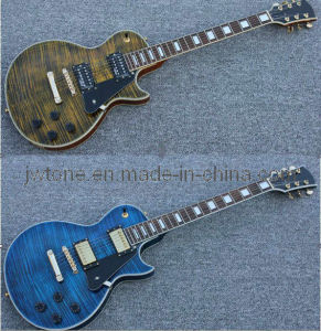 Aaaaa Tiger Stripe Body Top Quality Lp Electric Guitar pictures & photos