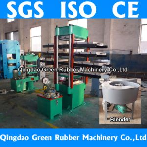 Colored Rubber Floor Tile Forming Machine