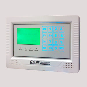 Touch Keyboard GSM Intruder Alarm with LCD pictures & photos