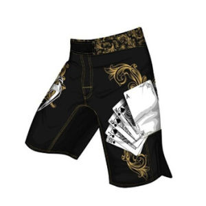 Custom Sublimation MMA Shorts Wholesale pictures & photos