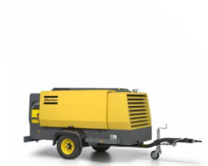Atlas Copco Portable Screw Air Compressor Xahs146 pictures & photos