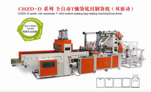 High Speed Full Automatic 4-Line T-Shirt Bag Sealing & Cutting Machine pictures & photos