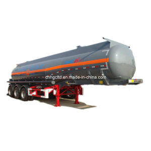 3 Axles 40cbm Chemical Liquid Tank Trailer pictures & photos