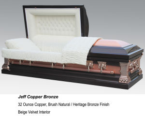Heritage 32oz Solid Copper Casket