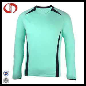 Long Sleeve Custom Made Mens Soccer Jersey pictures & photos