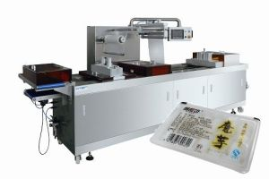 Instant Food Thermoforming Vacuum Map Packing Machinery with CE pictures & photos
