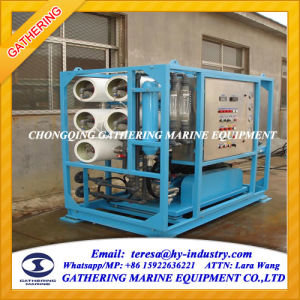 High Quality Containerized RO Seawater Desalination Unit pictures & photos
