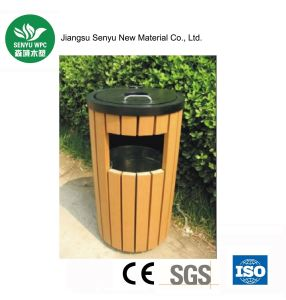 Eco-Friendly Durable WPC Outdoor Dustbin pictures & photos