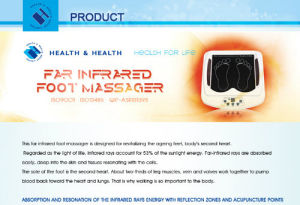 Thermal Massage Vest (JKF-MY-A) pictures & photos