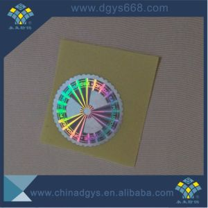 Custom Barcode Number Adehesive Hologram Laser Sticker pictures & photos