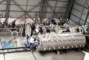 PVD Vacuum Plating Equipment for Stainless Steel Pipe/PVD Coating Equipment pictures & photos