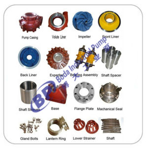 Spare Parts for Mining Centrifugal Slurry Pump Natural Rubber pictures & photos