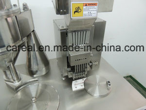 Small Mini Herb Pill Hard Gel Semi-Automatic Capsule Filling Machine pictures & photos