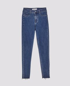 2016 Wholesale Fashion Women Cotton Blue Denim Jeans pictures & photos