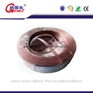 High Quality Transparent Copper Audio/Speaker Cable pictures & photos