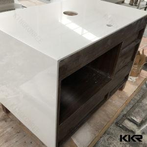 Kingkonree Custom Kitchen Island Solid Surface Kitchen Countertop pictures & photos