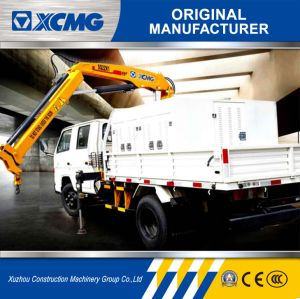 XCMG Sq2zk1 2ton Folding-Arm Truck Crane Truck Mounted Crane pictures & photos