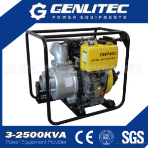 10HP 4 Inch Diesel Water Pump with Electric Start pictures & photos